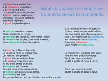 French conditional PPT