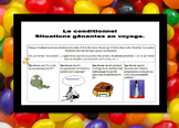 French conditional absurd situations with SI clauses