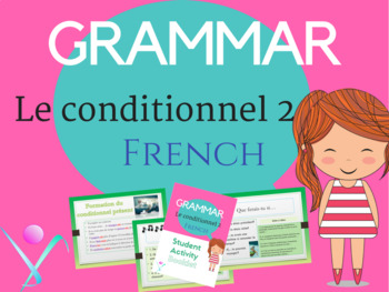 French conditional lesson and worksheet NO PREP