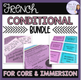 French conditional bundle of writing and speaking activities  LE CONDITIONNEL