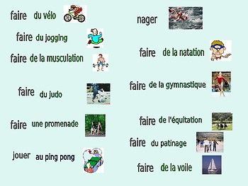Sports in French
