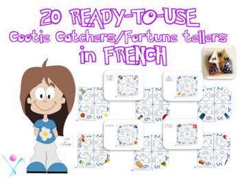 French cootie catchers bundle
