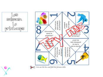 French cootie catchers bundle