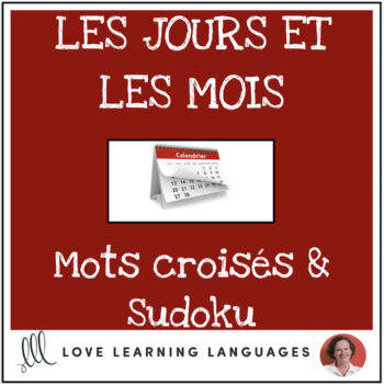 French days and months - Calendrier - Crossword and Sudoku Puzzles