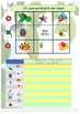 French days months seasons, jours mois et saisons booklet for beginners