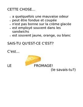 French description riddle mini-project