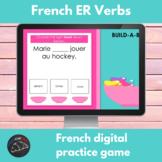 French digital game - ER verb conjugation