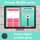 French digital game - IR verb conjugation