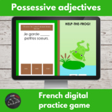 French digital game - Possessive adjectives