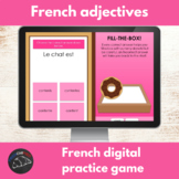 French digital game - adjective agreement