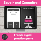 French digital game - connaître and savoir