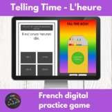 French digital game - telling time