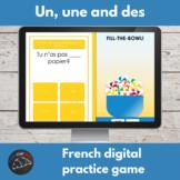 French digital game - un/une/des/de/d'