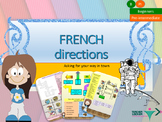French directions in town, les directions full lesson for beginners