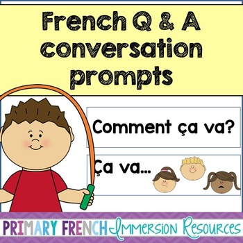 French conversation prompts - Questions and Answers