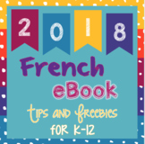 French eBook of back to school resources, freebies, and tips