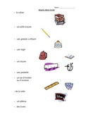 French ecole vocabulaire