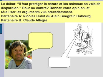 French ecological problems, les problèmes écologiques