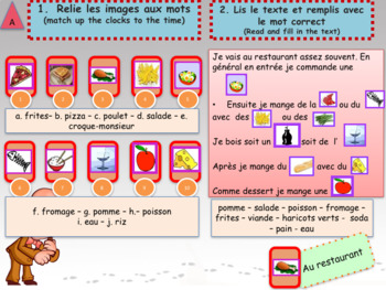 French end of year revisions 2 - summer homework full lesson for beginners