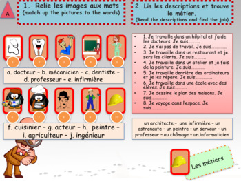 French end of year revisions - summer homework for beginners 2