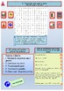 French end of year revisions - summer homework for beginners booklet 2