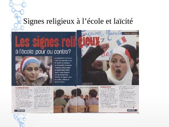 French equal opportunities, racism, religion and school