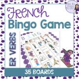 French bingo -er verbs LES VERBES DU PREMIER GROUPE