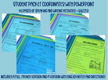 French -er verbs GROWING bundle