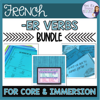 French -er verbs bundle