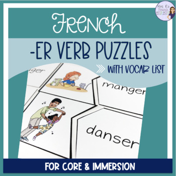 French -er verbs puzzles