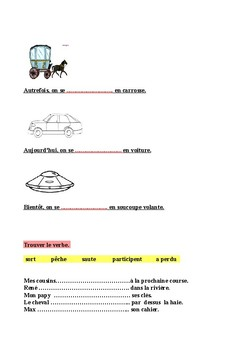 French exercices for beginner
