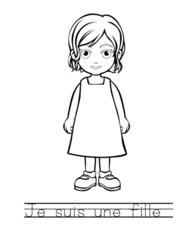 French expressions pack of 45 colouring sheets - great for bellwork and practice