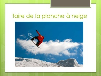 "French expressions with ""faire de"" – presentation - lesson"