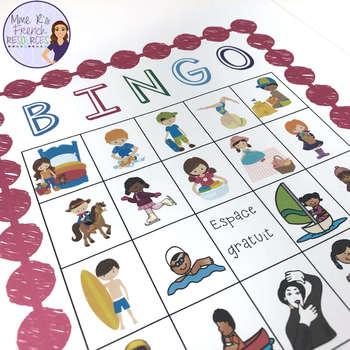 French bingo faire expressions