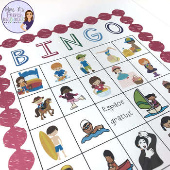 French bingo faire expressions