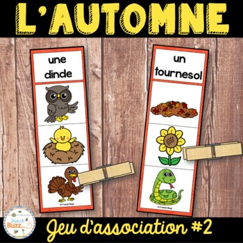 French fall - automne - jeu d'association #2