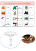 French fall autumn interactive lesson and printable activities