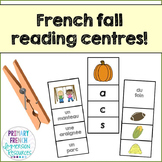 French fall / l'automne - reading centres