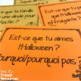 French Thanksgiving & Halloween fall speaking activity AUTOMNE L'ACTION DE GRACE