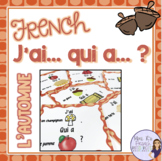 French fall vocabulary game J'AI... QUI A ...? L'AUTOMNE