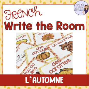 French fall write the room L'AUTOMNE