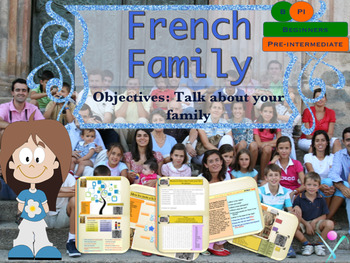 French family, la famille PPT for beginners