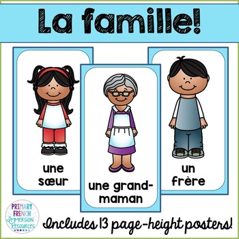 French family posters - La famille