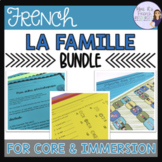 French family speaking and writing bundle ACTIVITÉS POUR LA FAMILLE