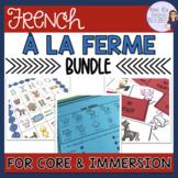 French farm unit bundle LES ANIMAUX DE LA FERME