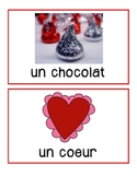 French flashcards and BANG! game - Valentine's Day