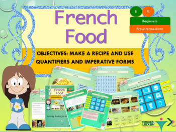French food and cooking recipes full lesson for beginners