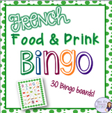 French food and drink bingo