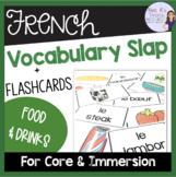French food and drink game/jeu de vocabulaire- la nourriture