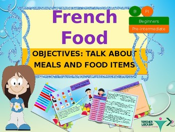 French food and meals PPT for beginners